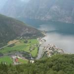 Norwegen: Aussichtspunkt Stegastein bei Aurland