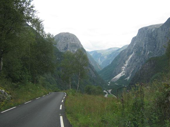Norwegen Stalheimkleiva