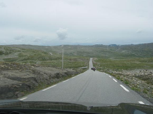 Strasse zwischen Aurland und Laerdal