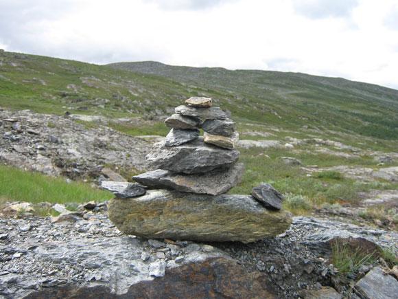 Norwegen: Steinmännchen