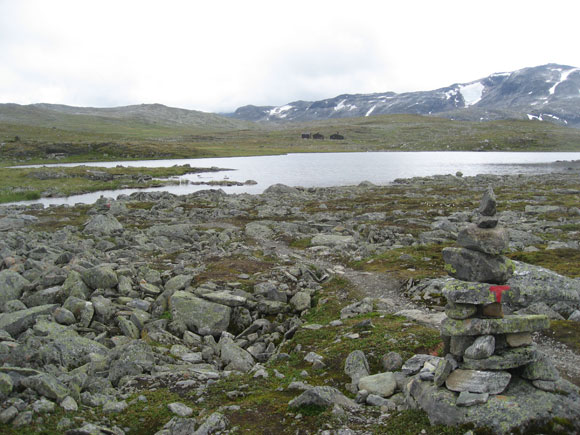 Norwegen: Weg zu den Sulebu-Schutzhütten