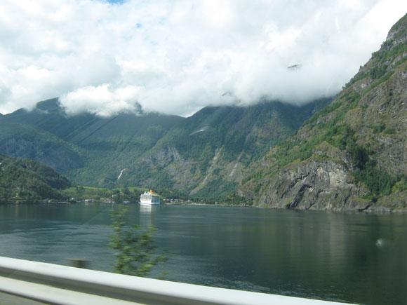 Norwegen: Sognefjord bei Flam
