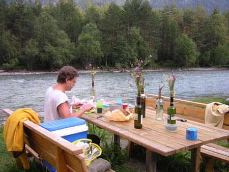 Picknick am Lech