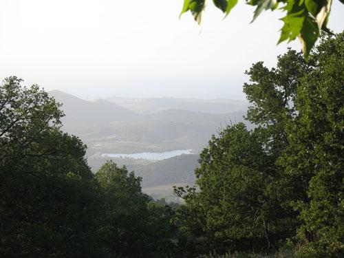 Blick auf den Lac de Padule nahe Oletta von San Michele de Murato