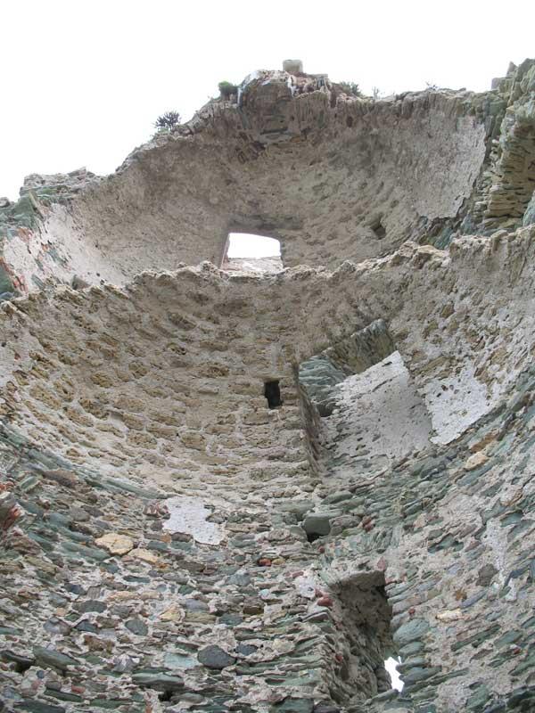 Innere eines Genuesen Turms