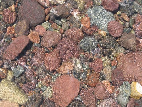 Steine im Fangu