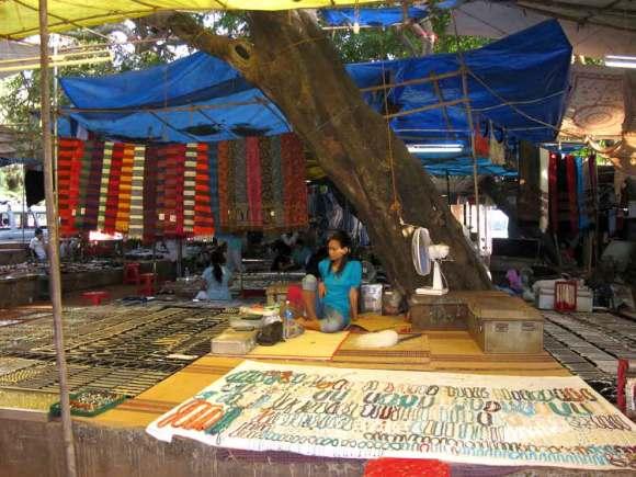 Goa Straßenshop