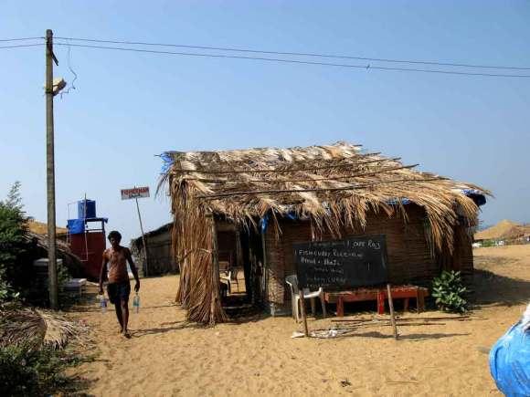Goa Weg zum Strand
