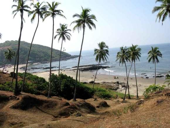 Vagator Strand auf Goa