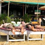 Chillen am Shack Goa