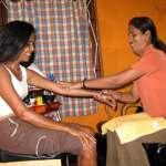 Massage auf Goa