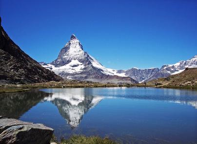 Ein Bergsee und sein Mythos - Das Matterhorn