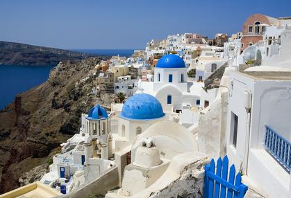 Weiße Dörfer Santorini