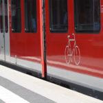 Fahrradmitnahme ist in vielen Zügen kein Problem