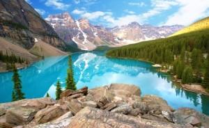 Moraine Lake Alberta Kanada