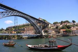 Eine Sehenswürdigkeit Portos - Pont D Luis
