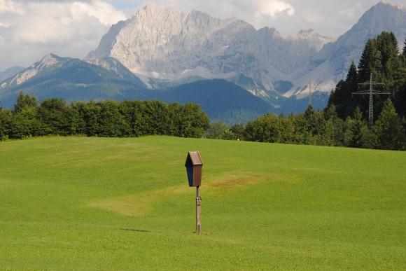 Alpenüberquerung mit dem Fahrrad Karwendel 2013