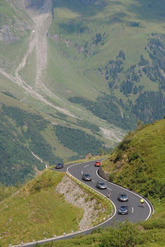 Grossglockner-Hochalpenstrasse Transalp mit dem Fahrrad 2013g