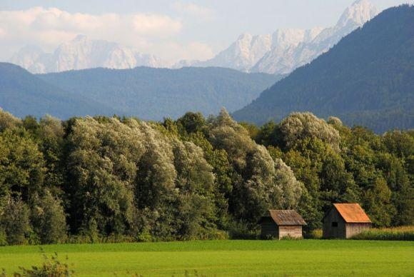 Julische Alpen am Gailtalradweg, Kärnten, ransalp mit dem Fahrrad 2013