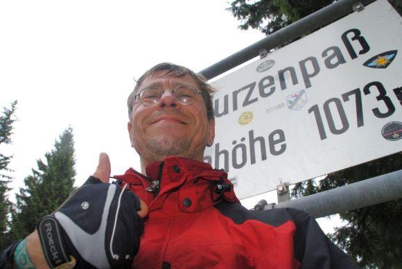 Wurzenpass,Kärnten,Passhöhe,Radtour