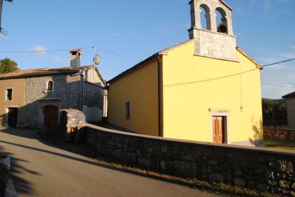 Jelovice, Cicarija-Gebirge, Istrien, Kroatien, Radtour 2013