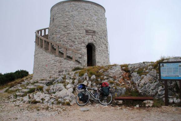 Vojac, Istrien,Kroatien,Allgäu-Adria-Radtour 2013