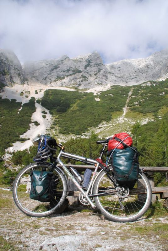 Vrsic-Pass,Vrsic,Winnetou-Landschaft,Kona Sutra, Kona, Sutra,Julische Alpen, Slowenien