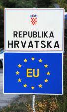Kroatien, Grenzübergang Slowenien-Kroatien, 2013