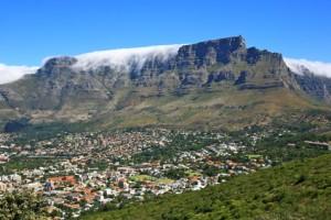 Der Tafelberg vereint zahlreiche Klimazonen auf kleinstem Raum