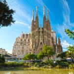 Eines der kulturellen Highlights - die Basilika Sagrada Família