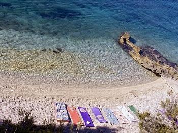 Strand Hvar Kroatien