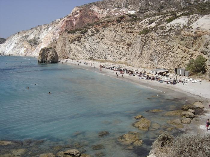 Kykladen Firiplaka Strand Griechenland