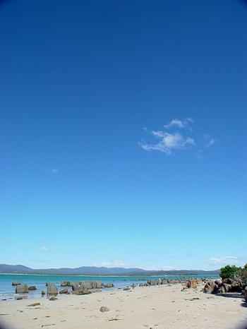 Strand Tasmanien Australien