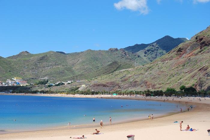 Strand Insel Teneriffa