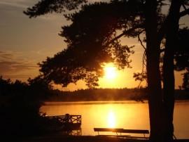 schwedischer See, Foto von dixon777