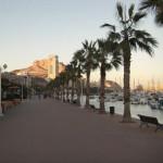 Spanien Alicante Burg